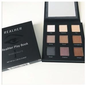 REALHER Playbook I EYESHADOW PALETTE - Nudes New